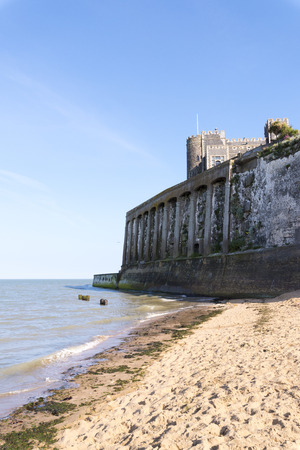 manche: Old fortress with sea view