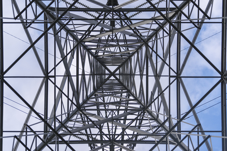 Power tower electricity pylon in the United Kingdom