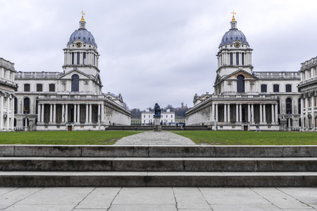 Old Royal Naval College in Greenwich, London, UK.