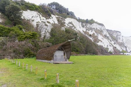 White cliffs of Dover near St Margarets Bay, Kent, UK