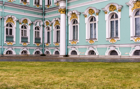 The Winter Palace, part of the Hermitage museum in Saint Petersburg, Russia