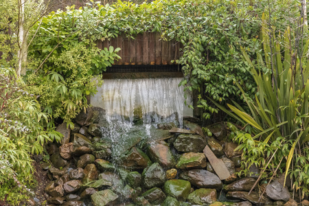 Waterfall in Elveden Forest Banque d'images