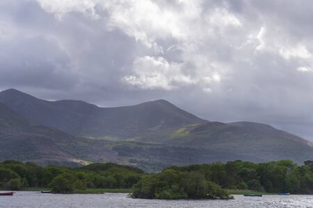 Lough Leane - Lake Leane - on the Ring of Kerry at Killarney Ireland