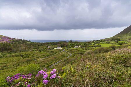 View of Irish countryside, Gleensk, Republic of Ireland