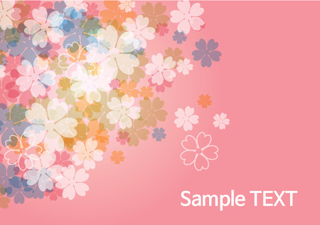 beauty flower background - pink
