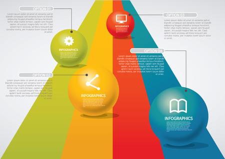 venn: info-graphic - sphere style - road