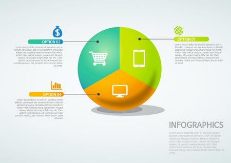 info graphics - tri partition, Venn diagram