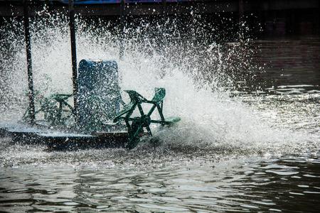 water turbine: water turbine in pool