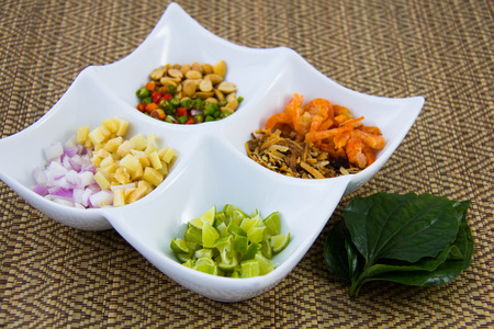 healthy snack: Miang Kham is a healthy snack  in Thailand