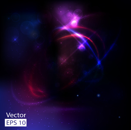 glorious: abstract cosmos background