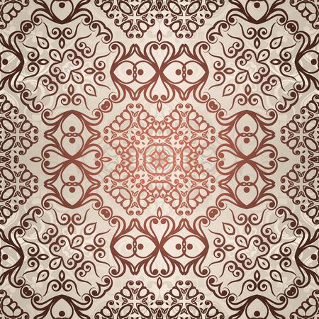 Vintage pattern background. Vector illustration
