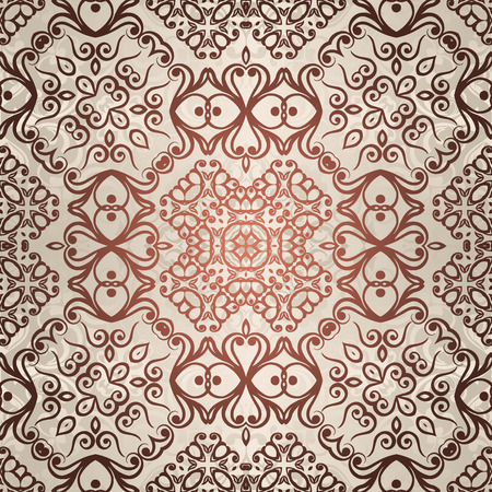 Vintage pattern background. Vector illustration