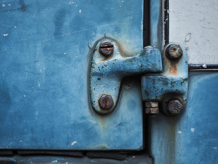 hasp: Hasp , Carved Doors Stock Photo