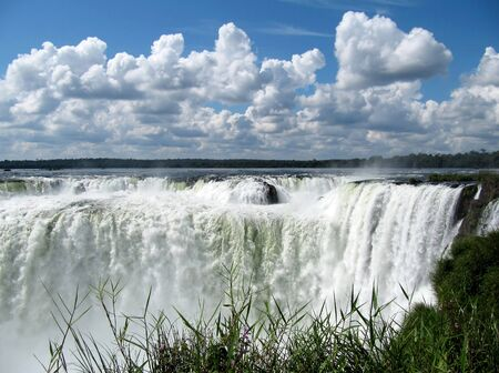 Most beautiful falls on a planet, Iguasu, South America photo