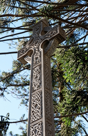 Big architectural Cross  Religion and Belief symbol  photo
