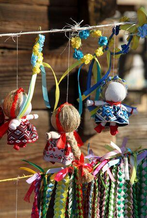 souvenir traditional: Ukrainian traditional souvenir. Doll motanka.