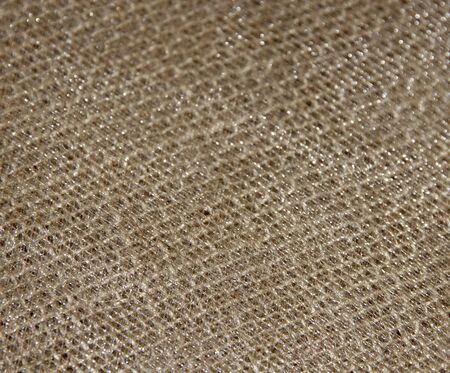 sacking: Decorative background material sacking and brocade. Stock Photo