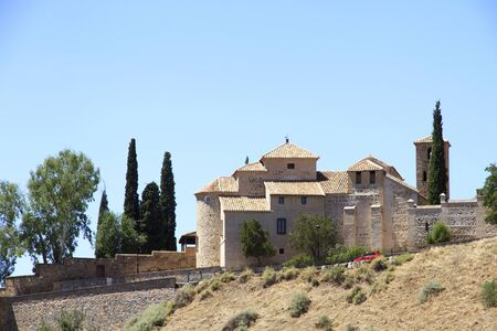 Toledo typical big house, residence. Spain travel.