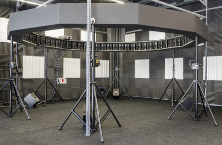 acoustic systems: A 64 loudspeakers circular array for spatial sound field reproduction.