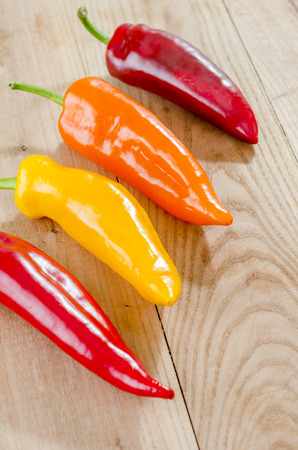 hottest: A colorful mix of the freshest and hottest chili peppers