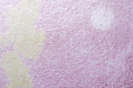 Closeup von schimmel auf matratze gesundheitliche probleme