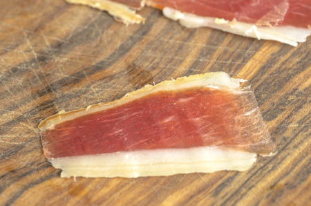 iberian: Cured iberian ham leg, bellota ham. Gourmet spanish food.