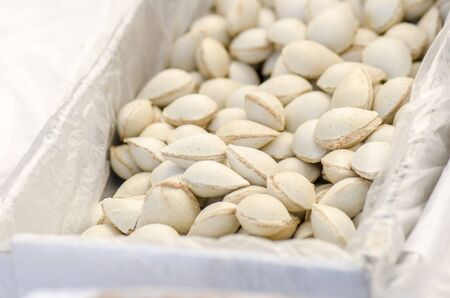 Delicious almonds filled with stoneground turron cream