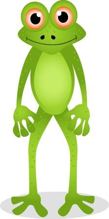 principe: rana divertente cartone animato