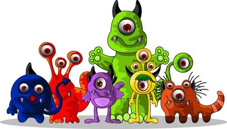 Monster cartoon Stock Vector - 14474393