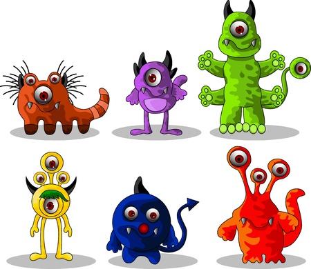 Dessin animé de Monster Vecteurs