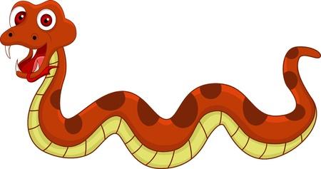 serpiente de cascabel: serpiente divertida