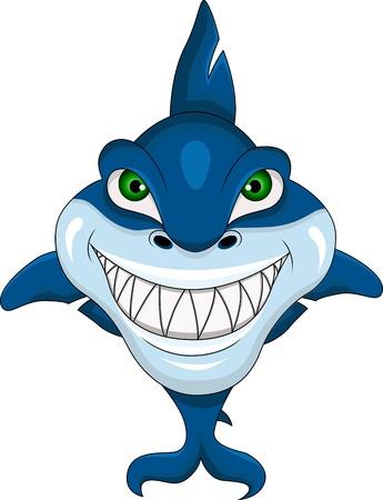 shark teeth: tibur�n enojado