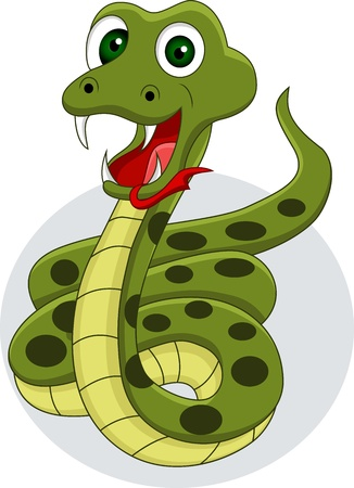 poison symbol: funny snake