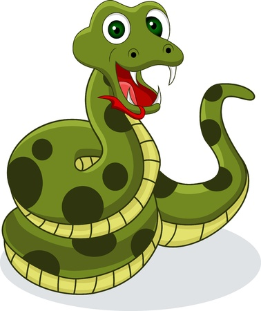 funny snake Stock Vector - 14557454