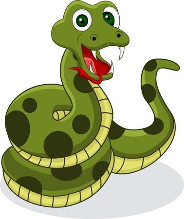 venomous snake: serpiente divertido