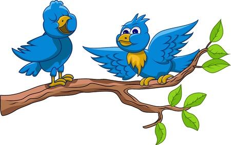 los pájaros están cantando