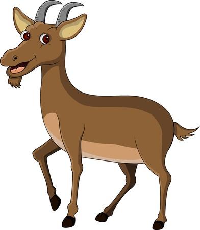 koza karikatura Ilustrace