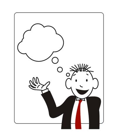 presentation of a businessmen Stock Vector - 14629612