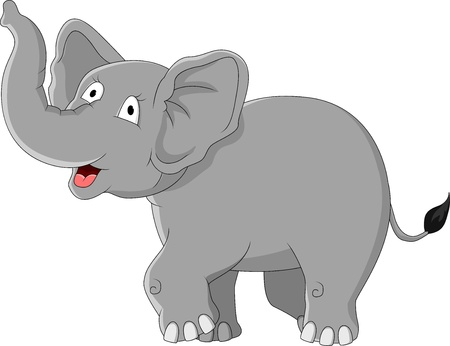 elephants: elephant cartoon