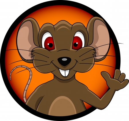 funny mouse cartoon Stock Vector - 15280948
