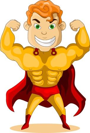 strong hero Vector