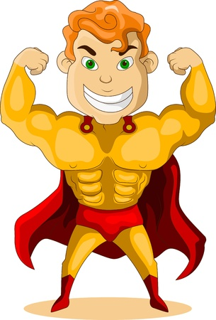 super guy: strong hero