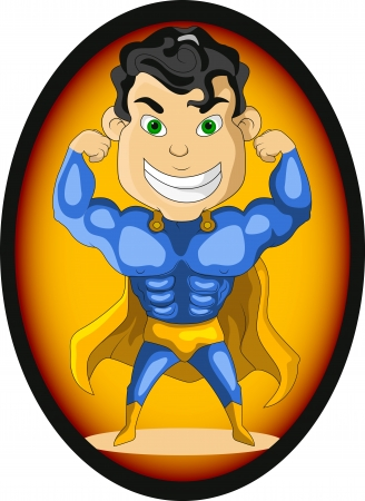 streaking: strong blue hero