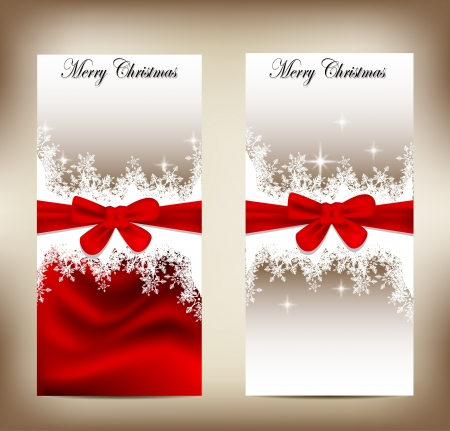 happy new year banner: beauty christmas card background Illustration