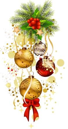 icona di Natale sfondo Vettoriali