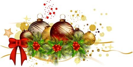 pictogram Kerst achtergrond Stock Illustratie