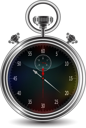 vector design of stopwatch  Stock Vector - 16195834
