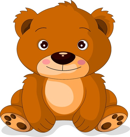cute bear: cute bear cartoon