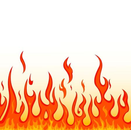 blazing: fire