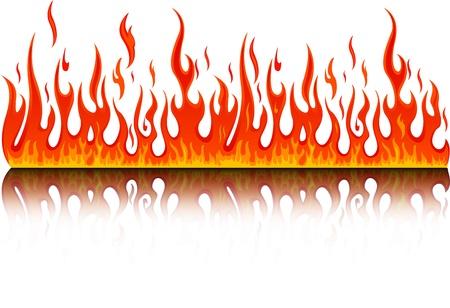 fire flames: fire